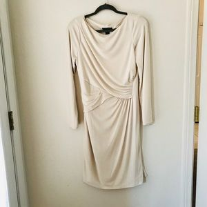 Ralph Lauren Cream Evening Dress